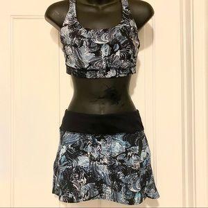 Lululemon Energy Bra & Pace Setter Skirt